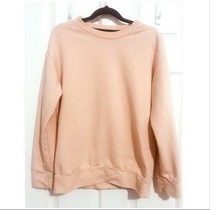 🌻2/$20 Peach Sweatshirt